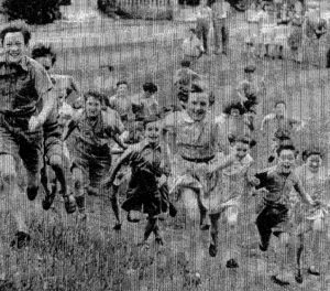 The children in 1940.