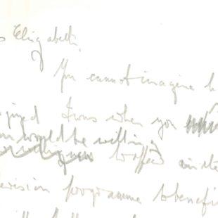 Letter to Elizabeth Taylor