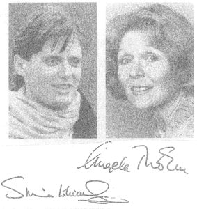 Simon Williams and Angela Thorne